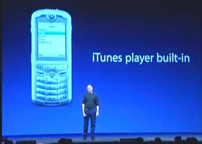 iTunes phone tung duoc gioi thieu truoc khi iPhone ra mat hinh anh