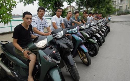 Honda SH - bieu tuong dang cap tai Viet Nam hinh anh