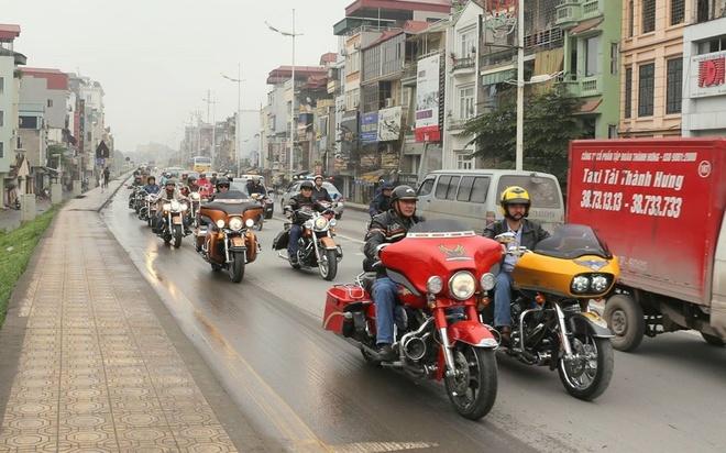 Doan sieu moto Ha Noi chay xuyen Viet hinh anh