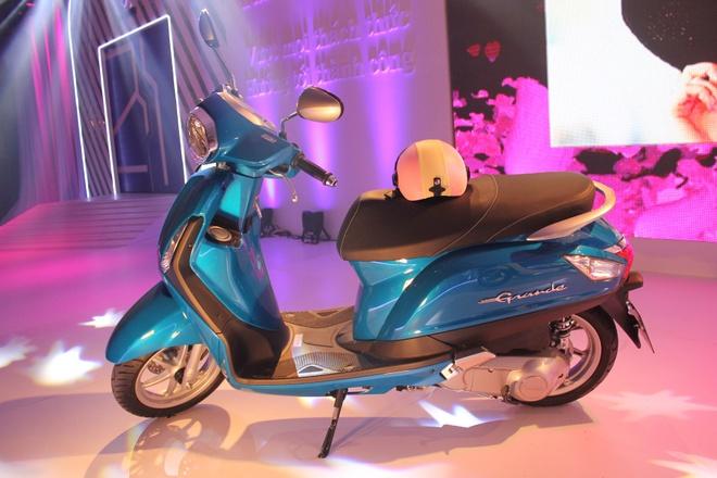 Yamaha ra mat xe ga Nozza Grande 125cc tai VN gia 40 trieu hinh anh