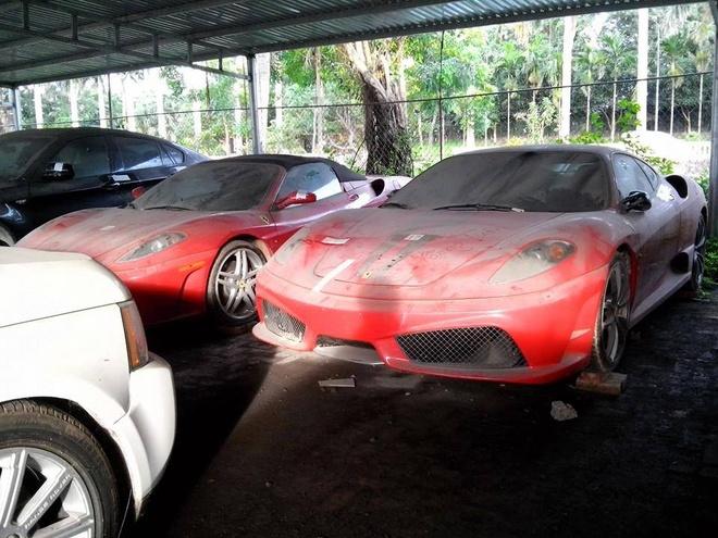 Dan sieu xe Ferrari phu bui o Viet Nam hinh anh 4