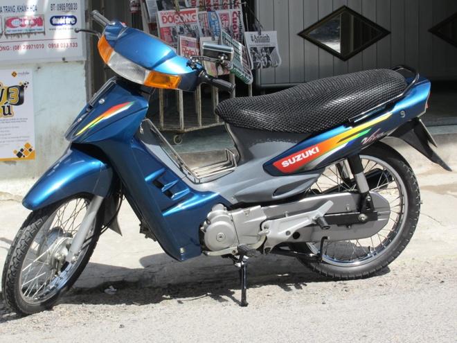 Nhung mau xe huyen thoai cua Suzuki tai Viet Nam hinh anh