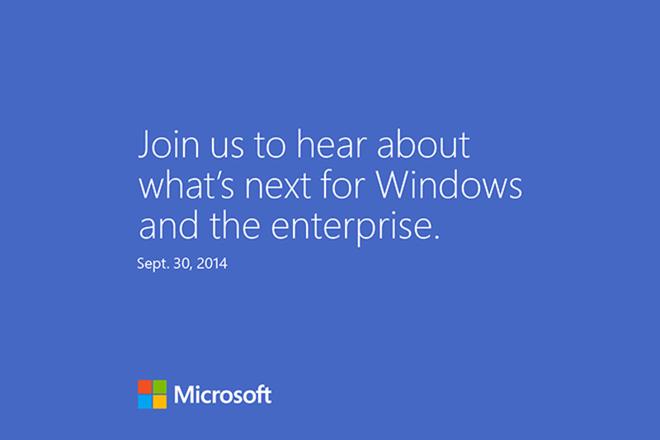 Microsoft se cong bo Windows 9 vao ngay 30/9 hinh anh