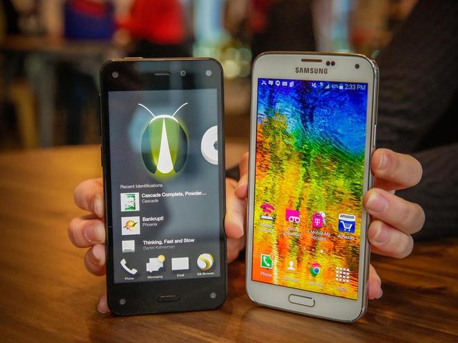 Vi sao Amazon that bai cay dang voi Fire Phone? hinh anh 4 Fire Phone rõ ràng đã chậm chân hơn các đối thủ ngay tại thị trường Mỹ