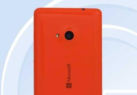 Dien thoai Lumia dau tien cua Microsoft lo anh hinh anh