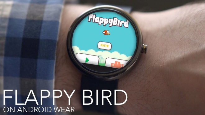 Flappy Bird se tai xuat tren thiet bi chay Android Wear hinh anh