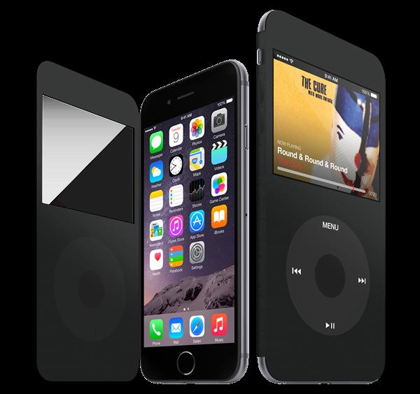 Phu kien giup bien iPhone thanh iPod Classic hinh anh