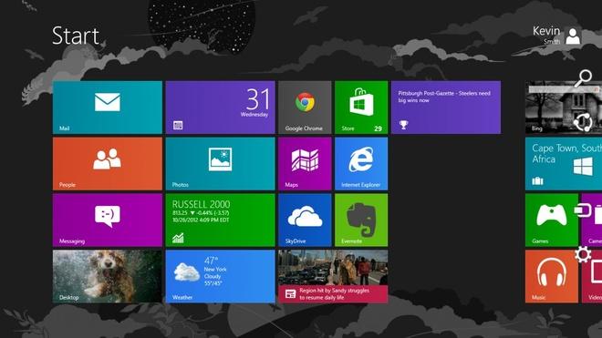 Nhin lai 30 nam he dieu hanh Windows hinh anh 13 Windows 8 (2012): iPad được ra mắt vào năm 2010, sản phẩm được cả thế giới đón nhận. Điều này đã khiến Microsoft lo sợ và tự đưa mình vào một sai lầm khác. Thay vì kế thừa các phiên bản Windows trước đó, Microsoft muốn đưa ra một phiên bản Windows có thể cạnh tranh được với iPad và máy tính thông thường nhưng cái họ nhận được là doanh số bán PC giảm 12% trong vòng 2 năm kể từ ngày phát hành Windows 8.