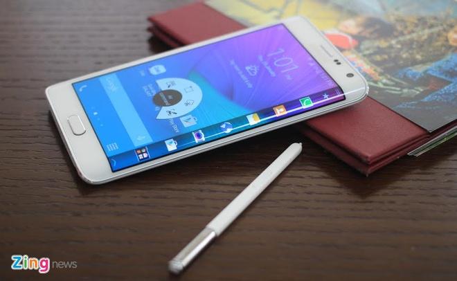 Galaxy Note Edge sắp có mặt trên thị trường.