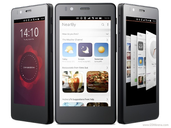 Smartphone dau tien chay Ubuntu sap ban gia gan 200 USD hinh anh