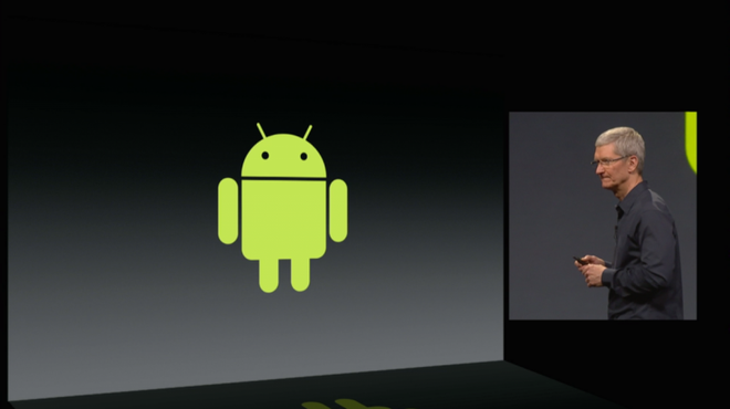 Apple la moi de doa lon doi voi Android hinh anh