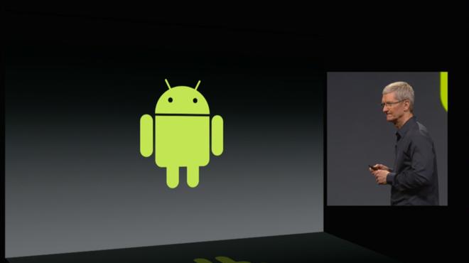 Apple la moi de doa lon doi voi Android hinh anh 1