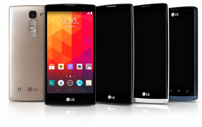 LG ra mat 4 smartphone truoc them MWC 2015 hinh anh