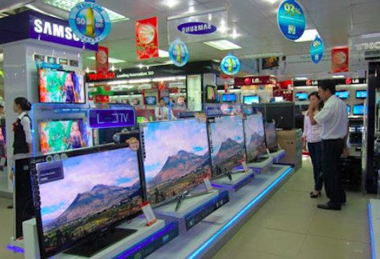 TV LED man hinh 32 inch hut khach dau nam hinh anh