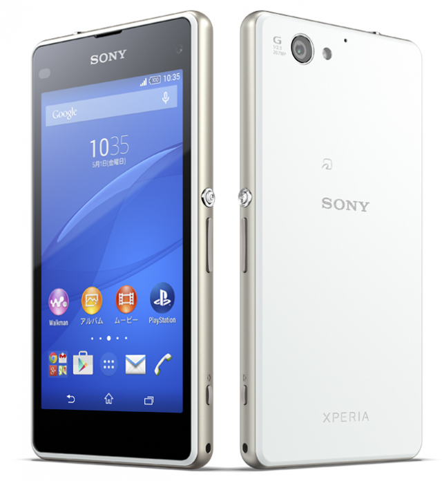 Sony gioi thieu Xperia J1 Compact tai thi truong Nhat Ban hinh anh