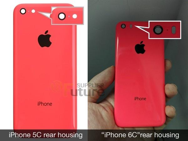 Hinh anh dau tien cua iPhone 6C hinh anh