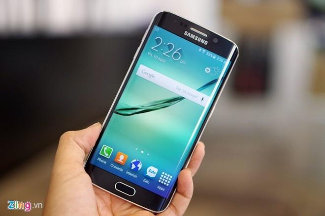 Galaxy S6 Edge 64 GB gia 21,5 trieu tai Viet Nam hinh anh