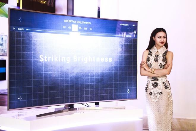 Samsung ra mat TV SUHD gia tu 55 den 400 trieu tai VN hinh anh