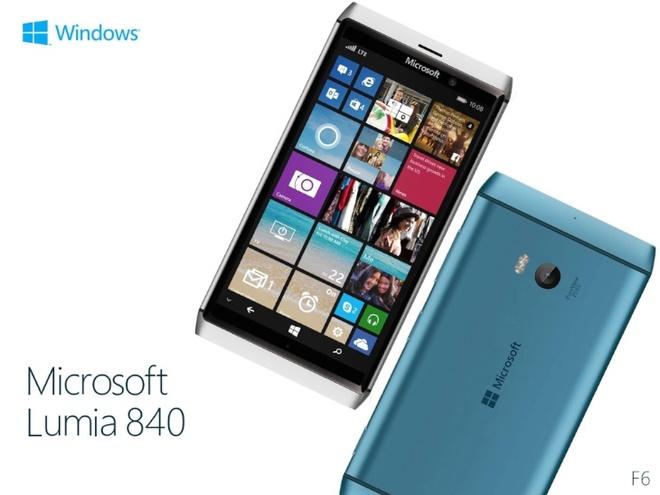 Lumia 830 ngung san xuat va thay the bang Lumia 840 hinh anh