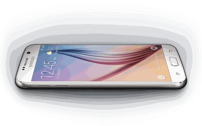 10 smartphone cao cap pin khung hinh anh 6 Samsung Galaxy S6: Sau Note 4, Galaxy S6 là sản phẩm có thiết kế ấn tượng của Samsung. Tuy nhiên, máy có thời gian sử dụng không nhanh  bằng. Model này cho dùng 7h14 phút, bù lại thiết bị chỉ mất 1h18 phút để sạc. Ngoài ra, thiết bị còn hỗ trợ sạc không dây