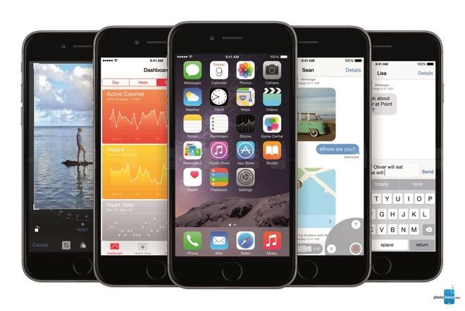 10 smartphone cao cap pin khung hinh anh 8 iPhone 6 Plus: Chiếc phablet của Apple lại là sản phẩm có thời gian sử dụng tốt nhất. Màn hình lớn đã giúp Apple trang bị cho iPhone 6 Plus pin dung lượng lớn 2.915 mAh. Dù vậy, thử nghiệm benchmark cho thấy thiết bị chỉ có thể sử dụng 6,5, thiết bị có thời gian sạc khá lâu đồng thời chưa được hỗ trợ sạc không dây.