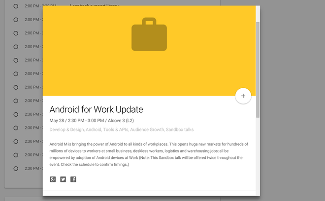 Android M ra mat tai Google I/O 2015 hinh anh 1