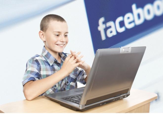 Tre nho noi gi ve Facebook? hinh anh