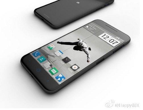 Lo hinh anh smartphone giong iPhone 6 cua ZTE hinh anh