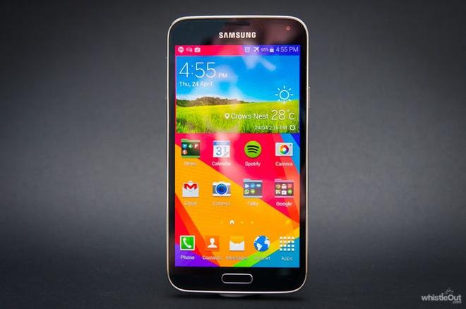 Samsung Galaxy S5 chuan bi len Android Lollipop hinh anh