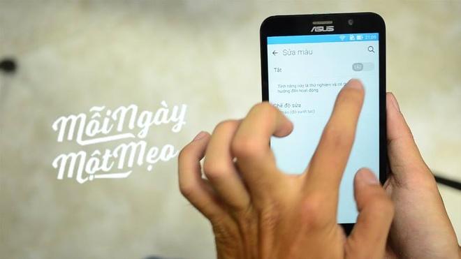 Cach chon tong cho nguoi loan mau tren Android 5.0 hinh anh