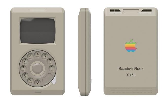 iPhone trong the nao neu duoc san xuat nam 1984? hinh anh