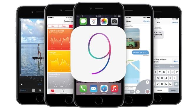 Can canh nhung diem khac biet giua iOS 8.3 va iOS 9 hinh anh