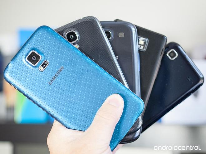 Samsung va hanh trinh 6 nam cua dien thoai Galaxy cao cap hinh anh