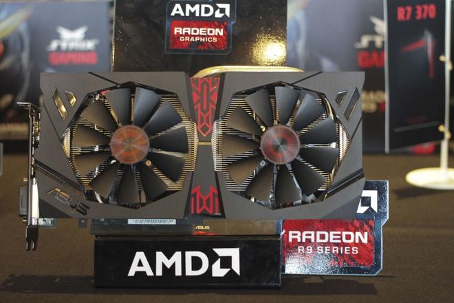 AMD gioi thieu card do hoa choi game 4K dau tien tai VN hinh anh