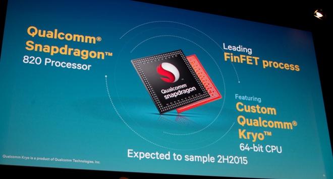 5 smartphone dung chip Snapdragon 820 chuan bi ra mat hinh anh