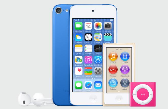 iPod Touch 2015 ra mat voi chip A8 va vo mau vang hinh anh