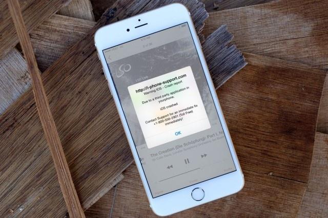 Tro lua iPhone bi hack tro lai hinh anh