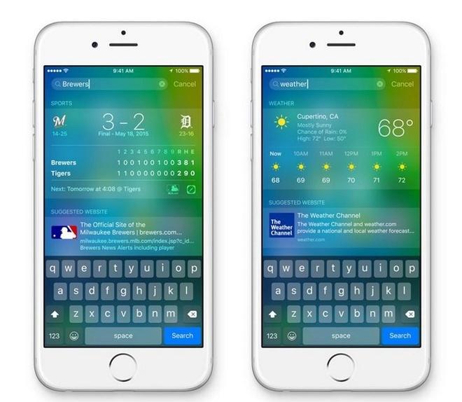 10 thay doi tren iOS 9 hinh anh