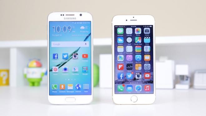 Nhung tinh nang cua Galaxy S6 hon iPhone 6 hinh anh