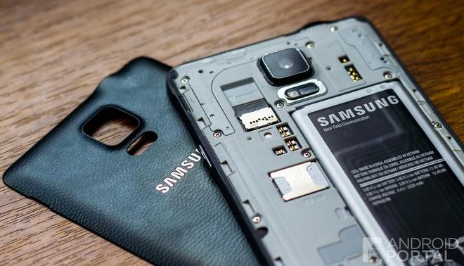 Galaxy Note 5 se trang bi khe cam the microSD hinh anh 1