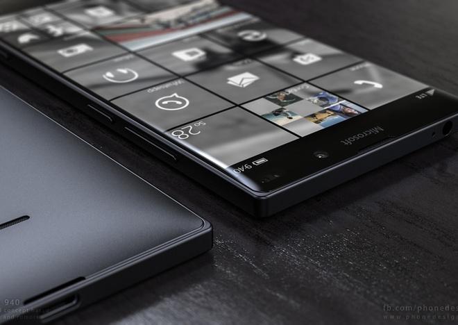 Smartphone moi cua Microsoft van su dung vo nhua hinh anh