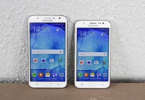 Trai nghiem nhanh Samsung Galaxy J5 va Galaxy J7 hinh anh