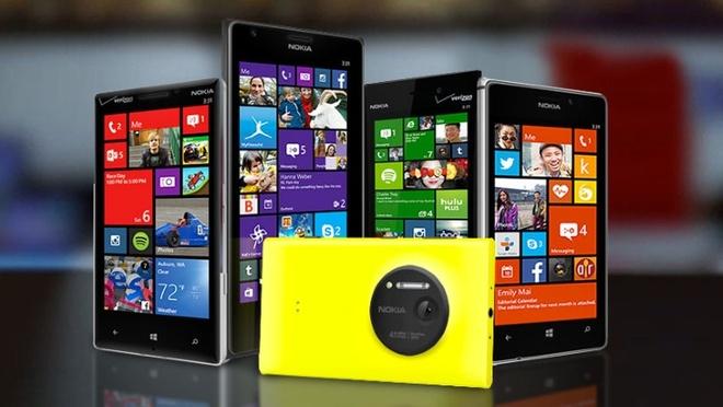 Danh sach dien thoai Lumia len Windows 10 dau tien hinh anh