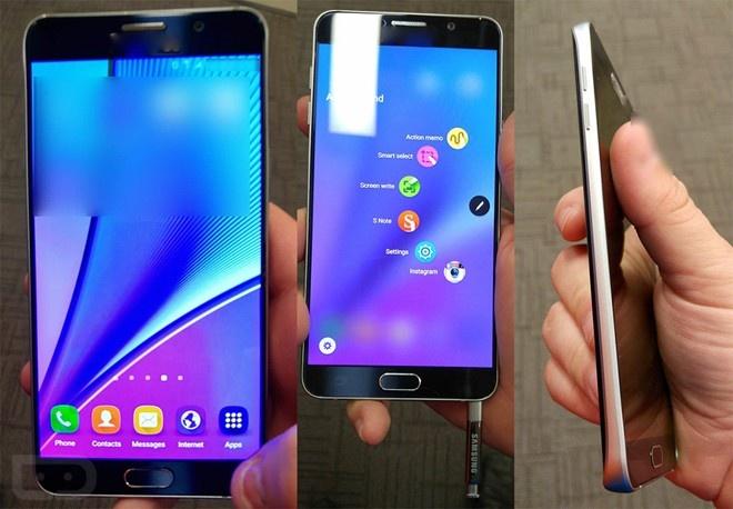 Galaxy Note 5 dan lo dien hinh anh