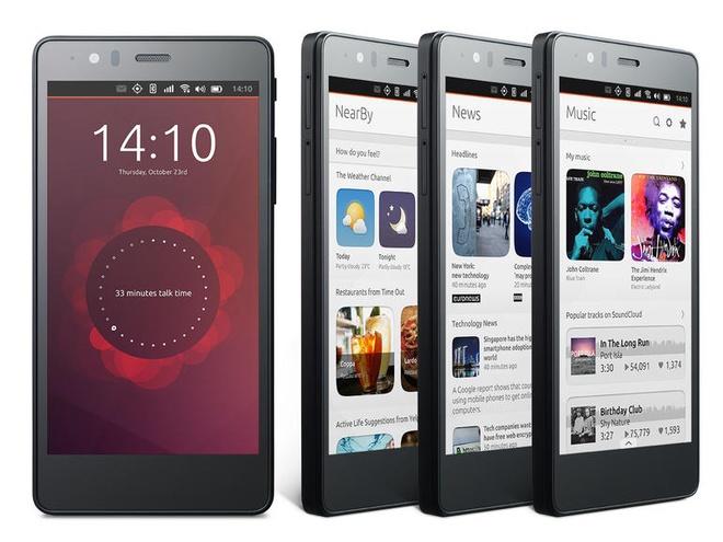 Smartphone chay Ubuntu Touch bat dau ban gia 220 USD hinh anh
