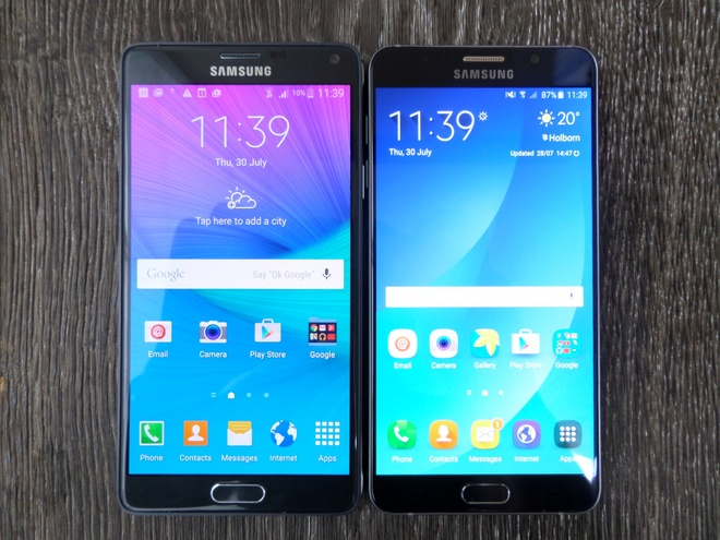 So sanh nhanh Galaxy Note 5 va Note 4 hinh anh