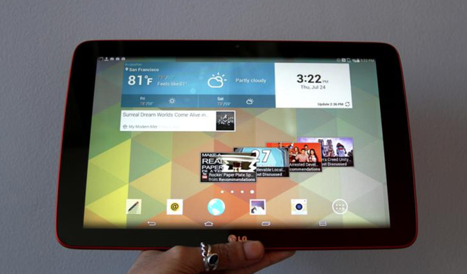 LG sap ra mat tablet pin 7.400 mAh hinh anh