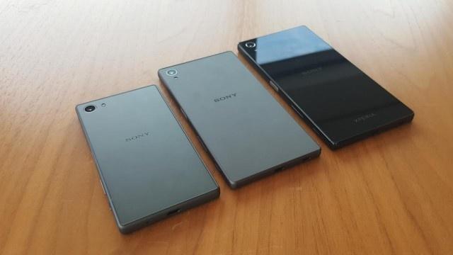 Anh thuc te cua bo ba Sony Xperia Z5 ro ri hinh anh