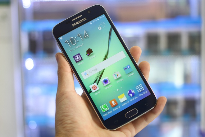 Samsung Galaxy S6 nhai xuat hien o Sai Gon, gia 3,2 trieu hinh anh