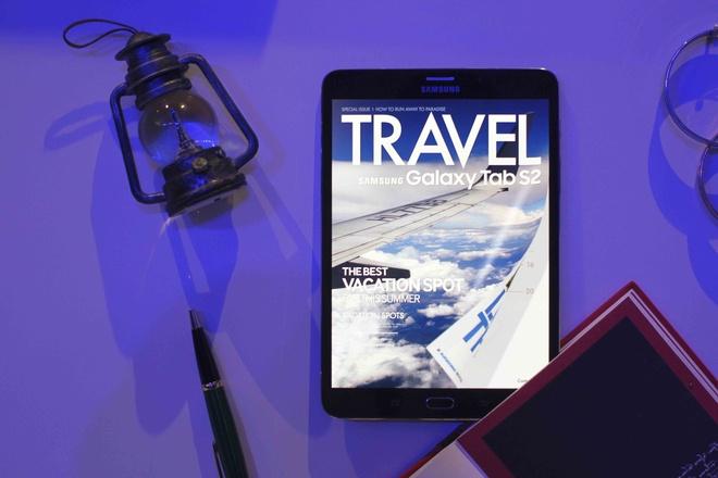 Samsung gioi thieu Galaxy Tab S2 o Viet Nam, gia tu 12 trieu hinh anh